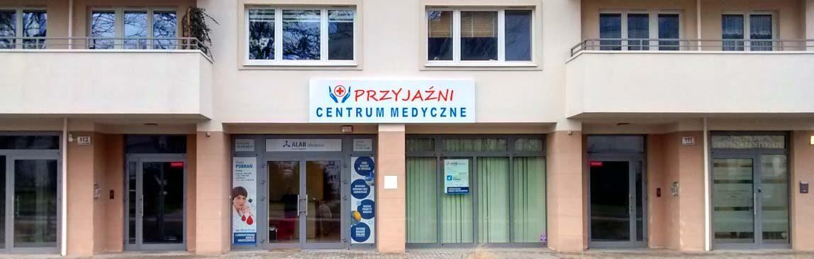 O nas (2) - Centrum Medyczne PRZYJAŹNI - Przychodnia - Wrocław, ul. Przyjaźni 111A