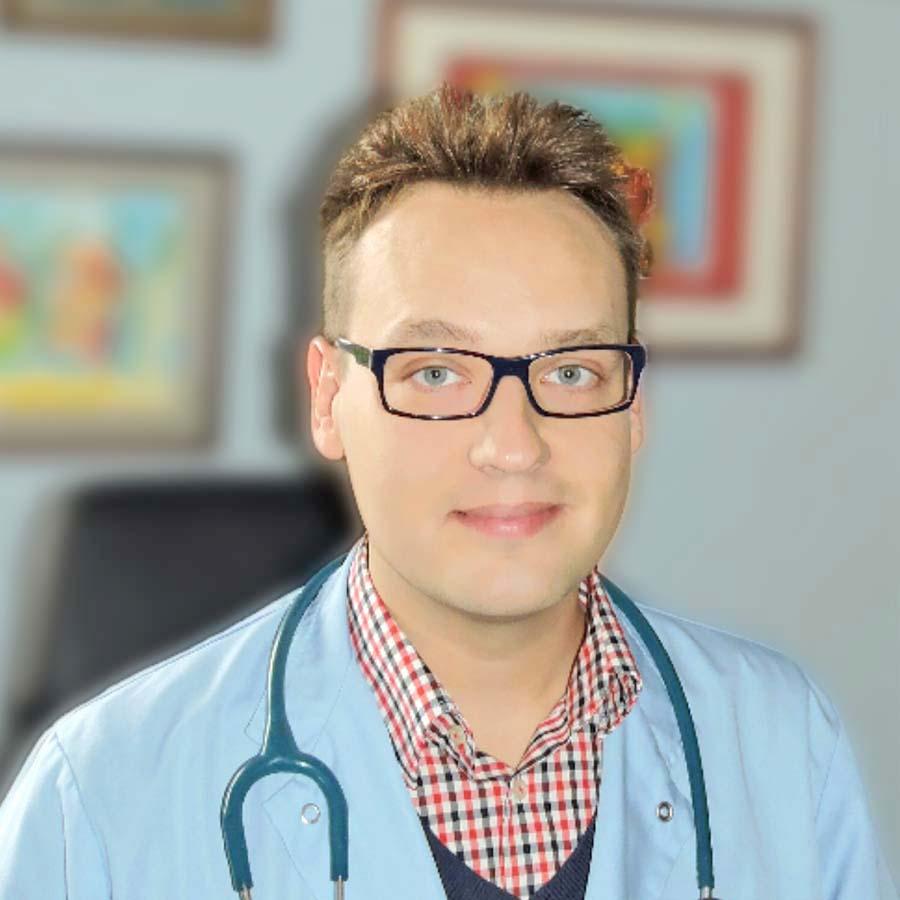 Lek. Gerard Pasternak. Pediatra Wrocław. Przychodnia Wrocław. Centrum Medyczne PRZYJAŹNI