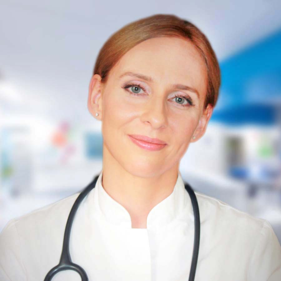 Martyna Olesinska-Mader - Lekarz specjalista diabetolog. Przychodnia we Wrocławiu. Centrum Medyczne PRZYJAŹNI