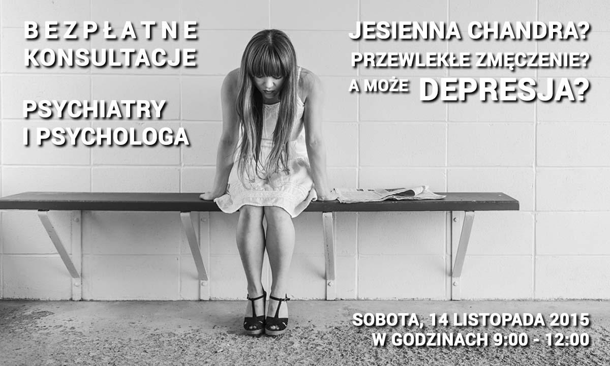 Depresja. Bezpłatne konsultacje psychiatry i psychologa. Przychodnia we Wrocławiu. Centrum Medyczne PRZYJAŹNI