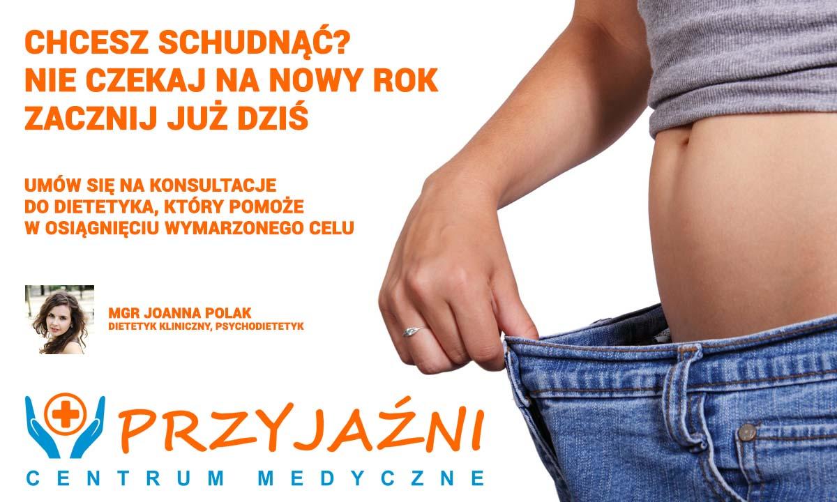 Porady dietetyka. Dietetyk Wrocław. Grudzien 2015. Przychodnia we Wrocławiu. Centrum Medyczne PRZYJAŹNI