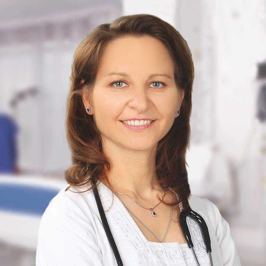 Zofia Burkot - lekarz internista, USG Wrocław, badania USG. Przychodnia we Wrocławiu. Centrum Medyczne PRZYJAŹNI