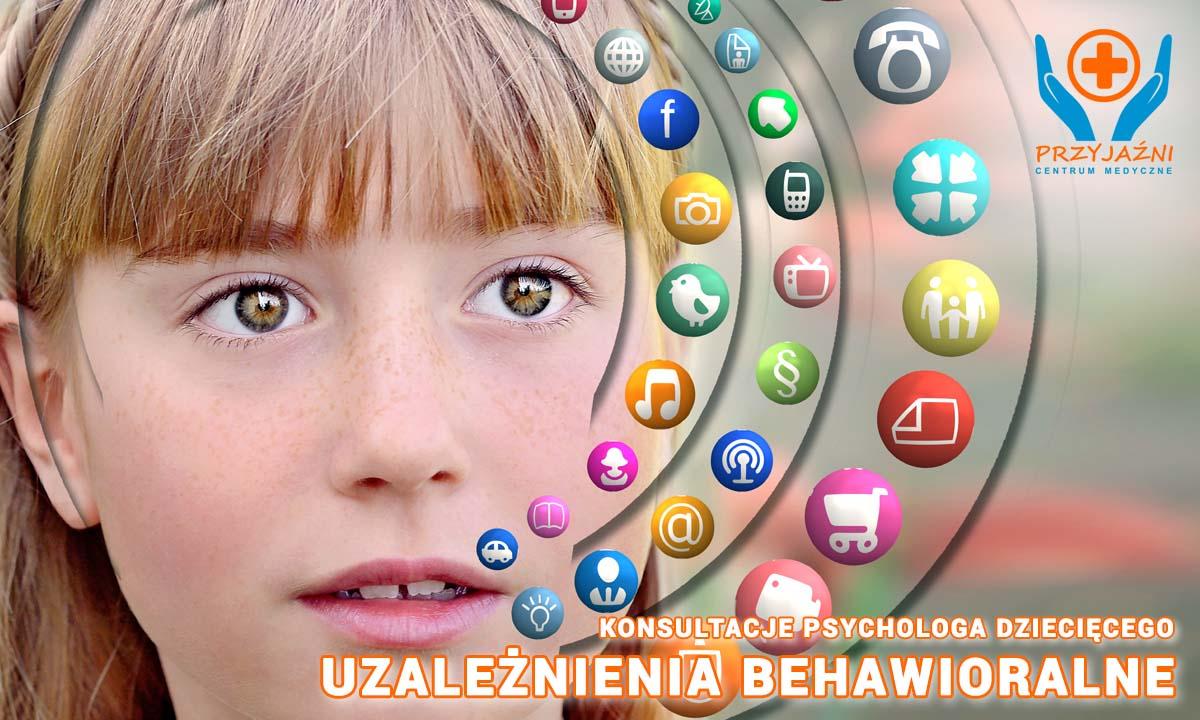 Uzależnienia behawioralne - konsultacje psychologa dziecięcego, Wrocław. Psycholog dziecięcy Wrocław. Przychodnia Wrocław. Centrum Medyczne PRZYJAŹNI