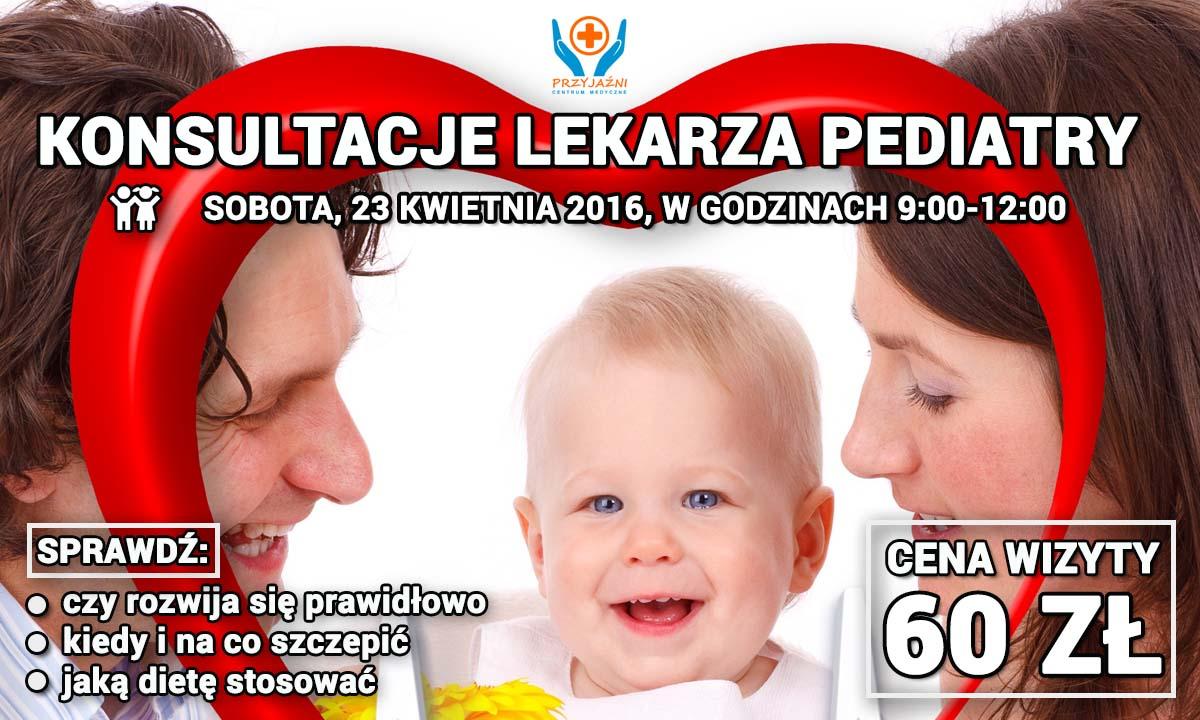 Konsulatce lekarza pediatry. Pediatra Wrocław, Przychodnia Wrocław. Centrum Medyczne PRZYJAŹNI