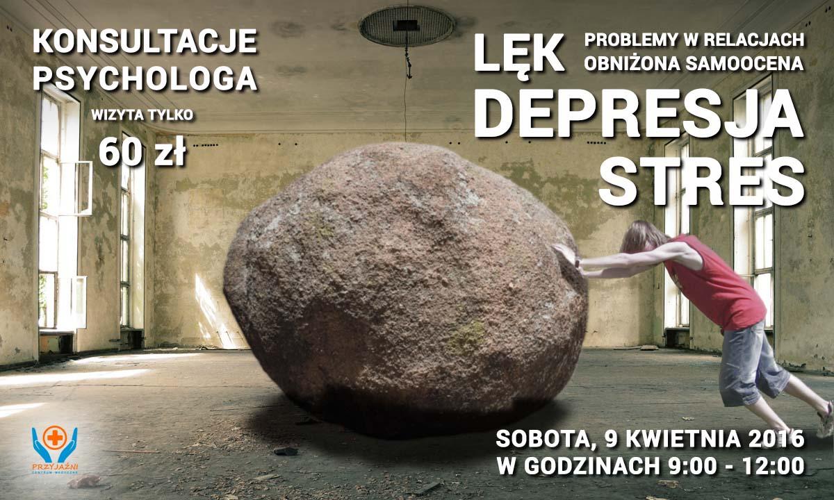 Konsultacje psychologa, Wrocław. Przychodnia Wrocław. Centrum Medyczne PRZYJAŹNI