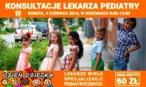 Konsultacje pediatryczne – Dzień Dziecka