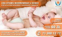 USG stawów biodrowych u dzieci