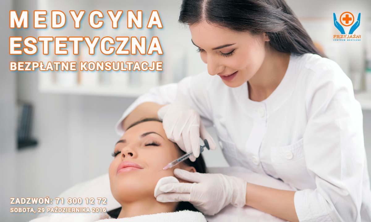 Medycyna estetyczna - bezpłatne konsultacje Wrocław. Przychodnia Wrocław. Centrum Medyczne PRZYJAŹNI
