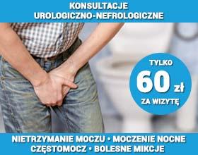 NIETRZYMANIE MOCZU - konsultacje urologiczno-nefrologiczne