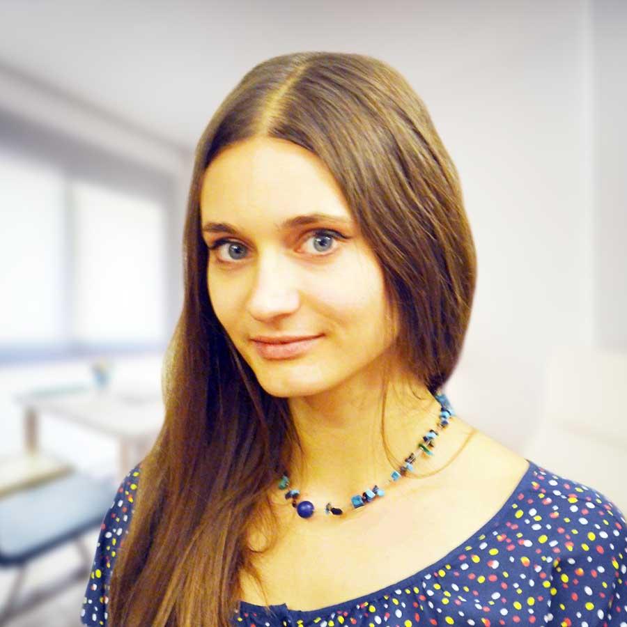 Agnieszka Woszczek. Psycholog, psycholog dziecięcy Wrocław. Przychodnia Wrocław. Centrum Medyczne PRZYJAŹNI