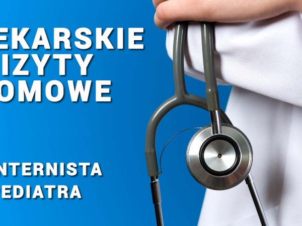 Lekarskie wizyty domowe. Internista Wrocław. Pediatra Wrocław. Przychodnia Wrocław. Centrum Medyczne PRZYJAŹNI