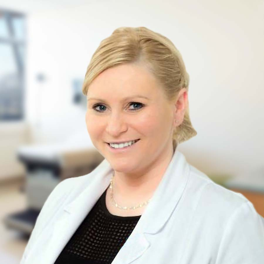 Dr n. med. Karolina Waleśkiewicz-Ogórek. Ginekolog. Przychodnia Wrocław. Centrum Medyczne PRZYJAŹNI