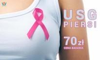 USG piersi w cenie 70 zł