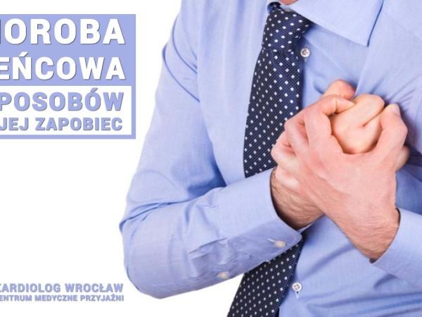 Choroba wieńcowa. 7 sposobów, aby jej zapobiec. Kardiolog Wrocław. Przychodnia Wrocław. Centrum Medyczne PRZYJAŹNI