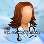 Lek. Jadwiga Osińska