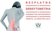 BEZPŁATNA DENSYTOMETRIA – diagnostyka osteoporozy
