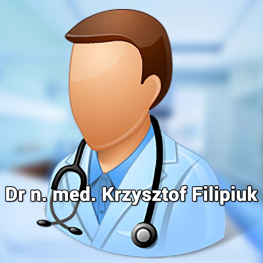 Dr n. med. Krzysztof Filipiuk. Ginekolog. Przychodnia Wrocław. Centrum Medyczne PRZYJAŹNI