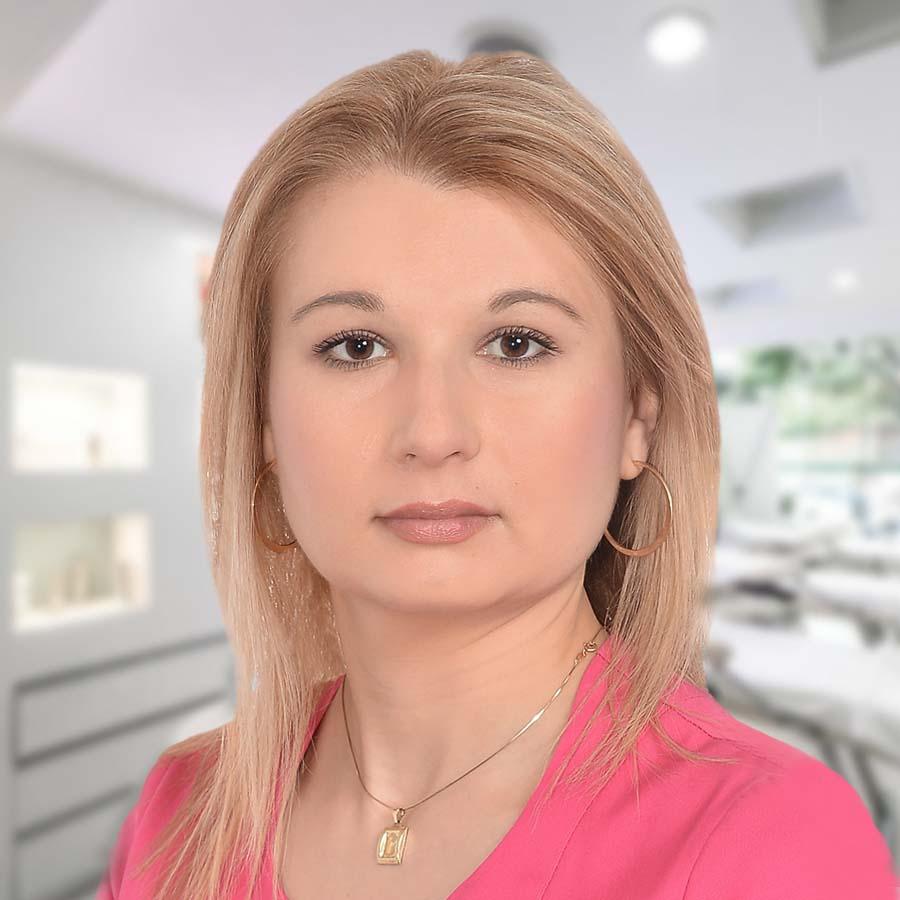Lek. Magdalena Żychowska. Dermatolog Wrocław. Przychodnia Wrocław. Centrum Medyczne PRZYJAŹNI