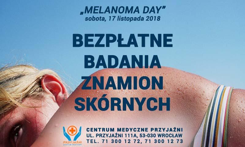 """BEZPŁATNE BADANIA ZNAMION SKÓRNYCH: """"Melanoma Day"""""""
