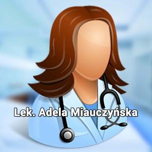 Lek. Adela Miauczyńska. Lekarz specjalista onkolog. Onkolog Wrocław. Przychodnia we Wrocławiu. Przychodnia Wrocław. Centrum Medyczne PRZYJAŹNI