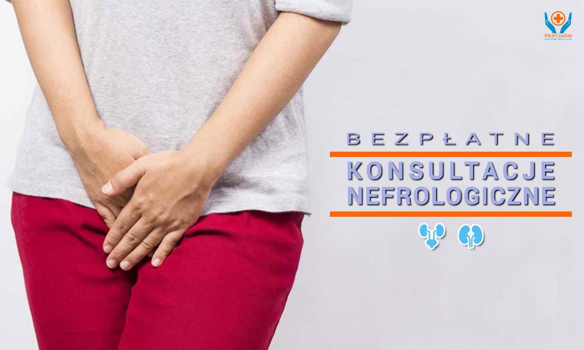 Bezpłatne konsultacje nefrologiczne. Nefrolog Wrocław. Przychodnia Wrocław. Centrum Medyczne PRZYJAŹNI