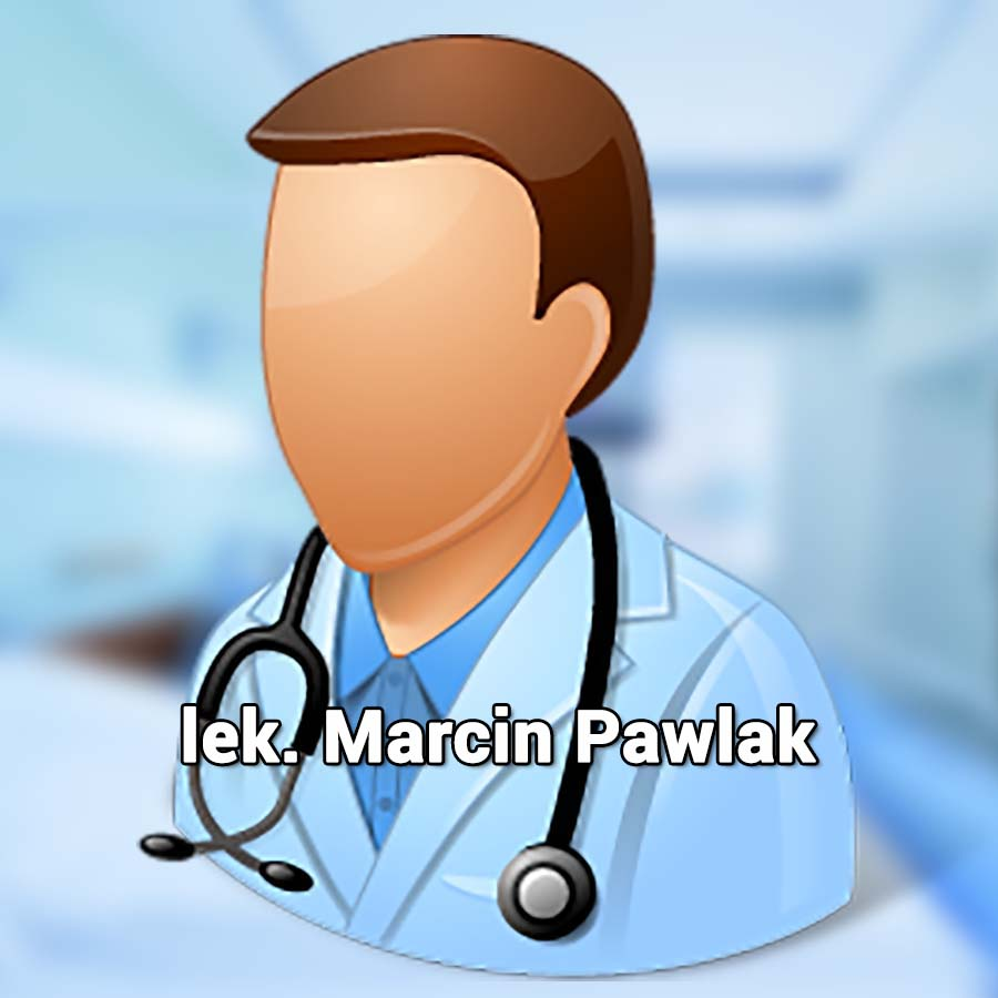 Marcin Pawlak. Internista Wrocław. USG Wrocław. Przychodnia Wrocław. Centrum Medyczne PRZYJAŹNI